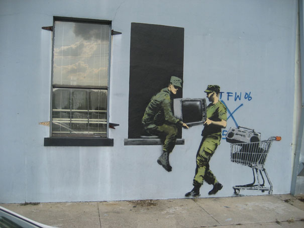 banksy-graffiti-street-art-looters