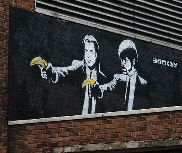 banksy-graffiti-street-art-pulp-fiction