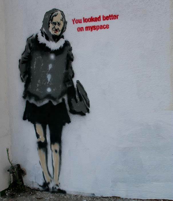 banksy-graffiti-street-art-you-looked-better-on-myspace