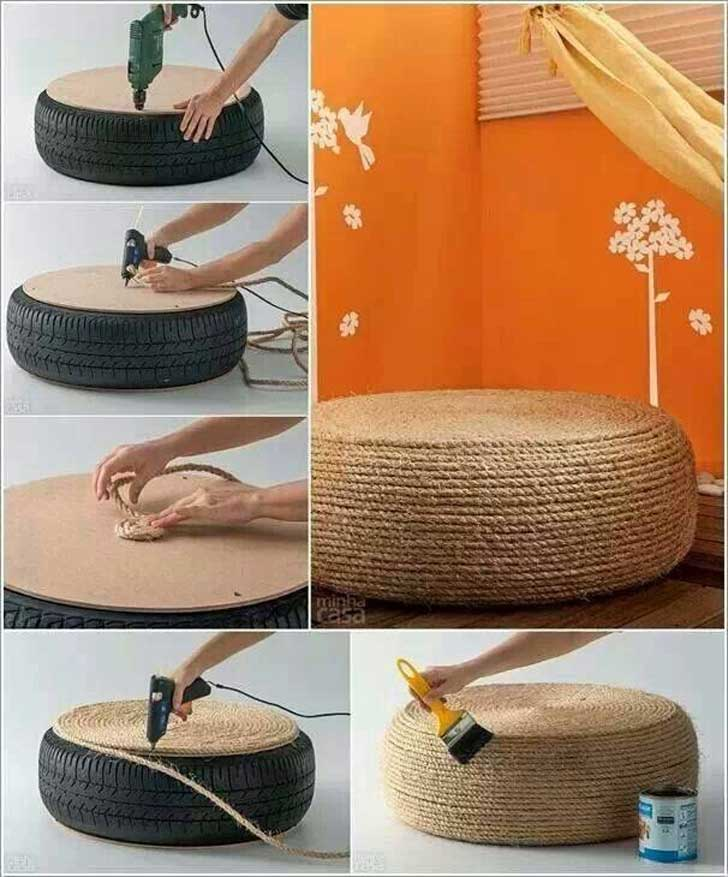 13 originales ideas para reutilizar llantas viejas upsocl diy interior design diy home design easy and cheap ideas