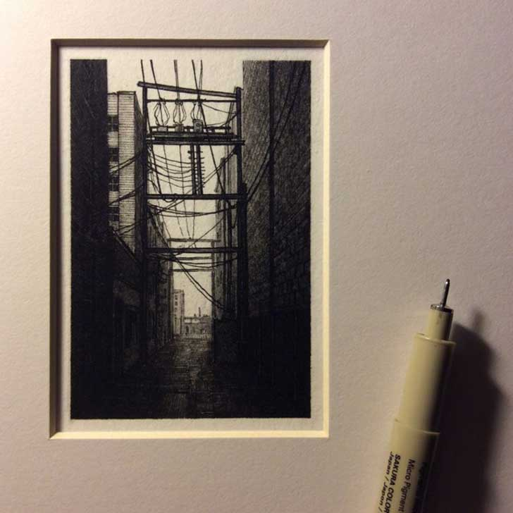 Tiny-Drawings-by-Taylor-Mazer_3-640x640