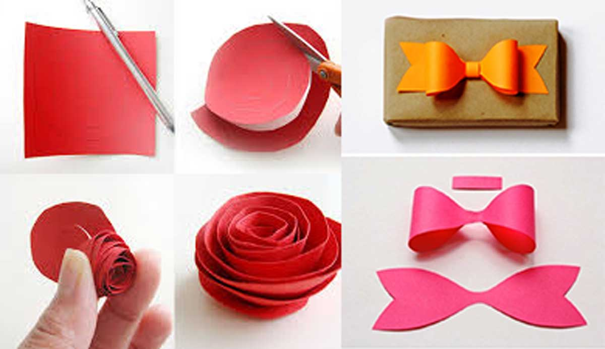 15 entretenidas decoraciones que puedes hacer con papel for Fotos de decoraciones