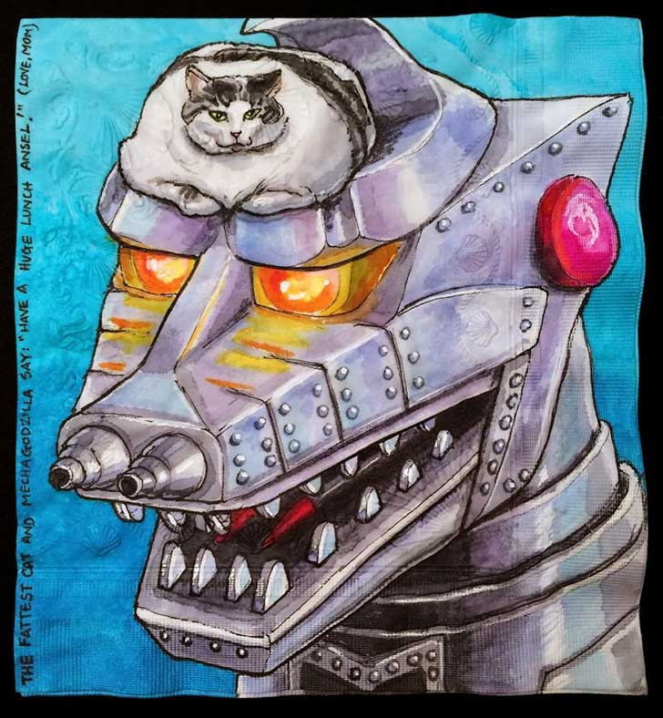 Cats-and-Robot-Drawn-on-Kids-Lunchbox-Napkins-10__880