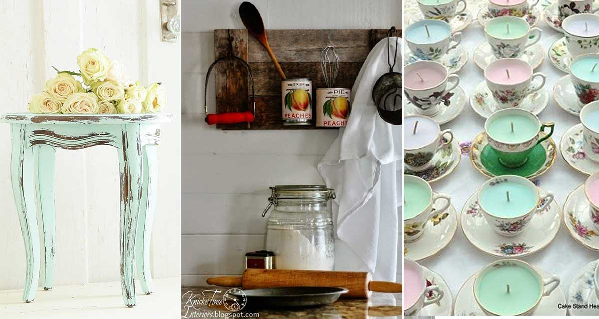 21 ideas de decoraci n para gente que ama el estilo for Decoracion estilo romantico vintage