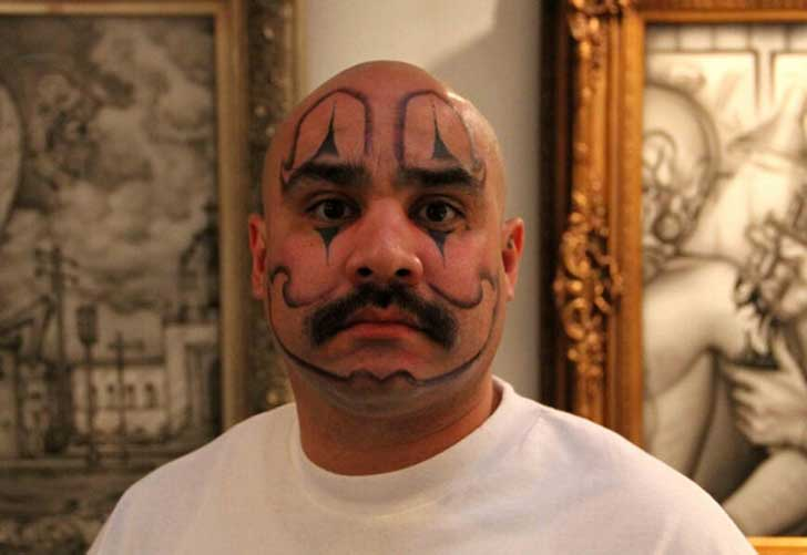 clown-face-tattoo