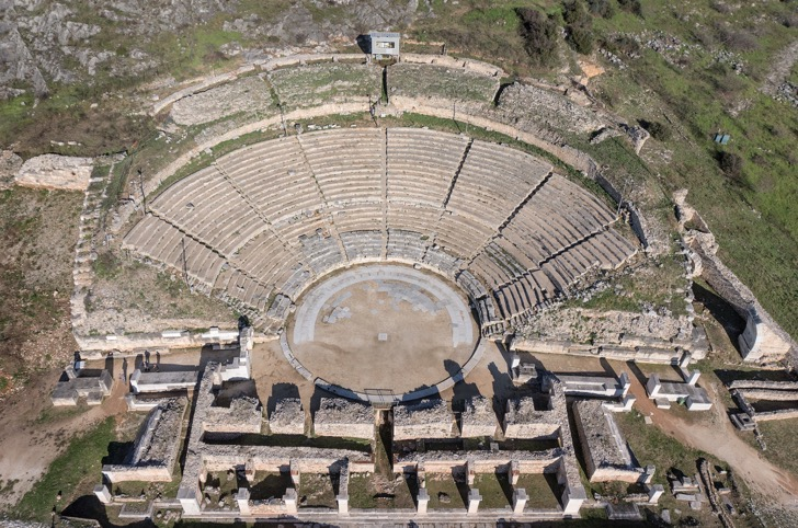 Archaeological Site of Philippi: The Theater