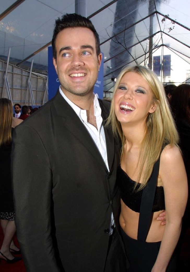 Carson Daly and Tara Reid (Photo by KMazur / Getty Images)