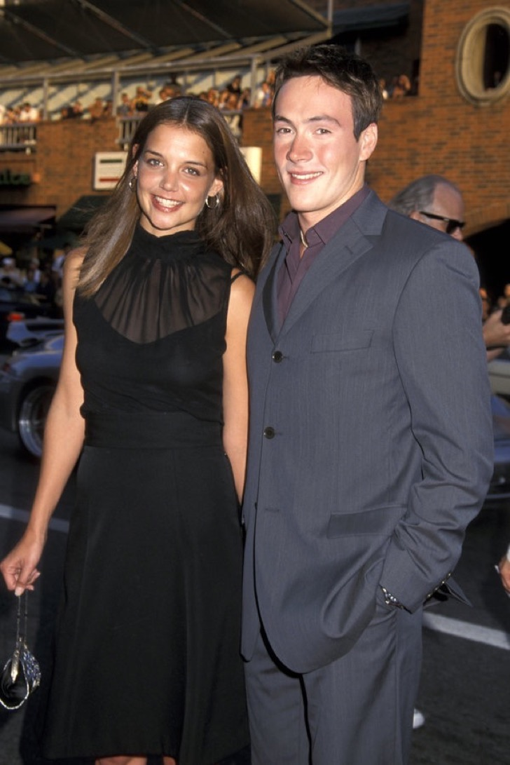 Katie Holmes and Chris Klein (Photo by Ron Galella / WireImage)
