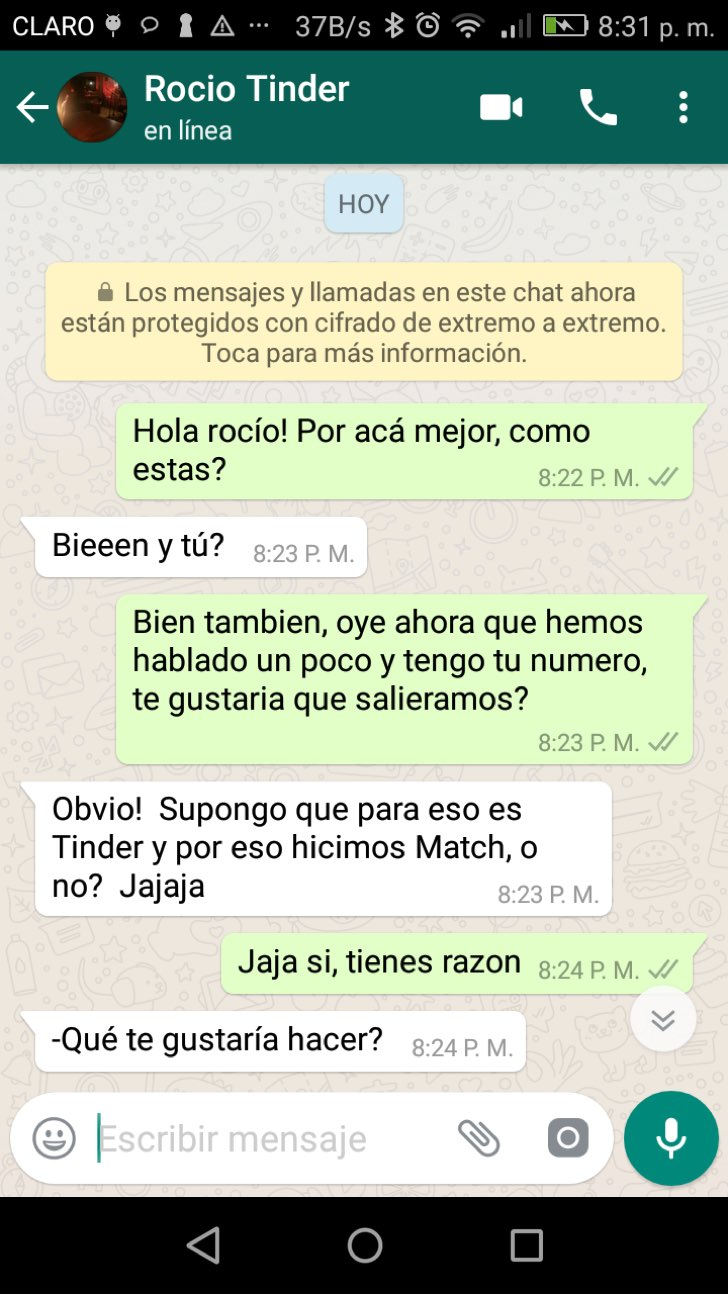 Tinder masaje sexual flaco