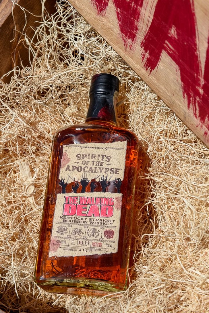 'The Walking Dead' lanzó al mercado su propio Whisky inspirado en la serie