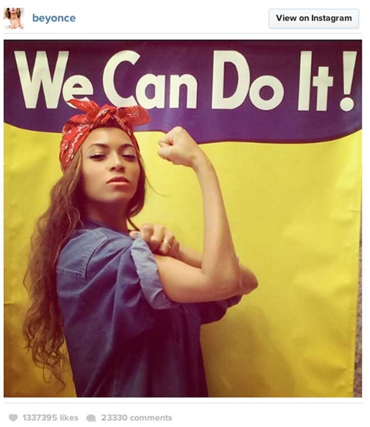 disfraz mujer we can do it