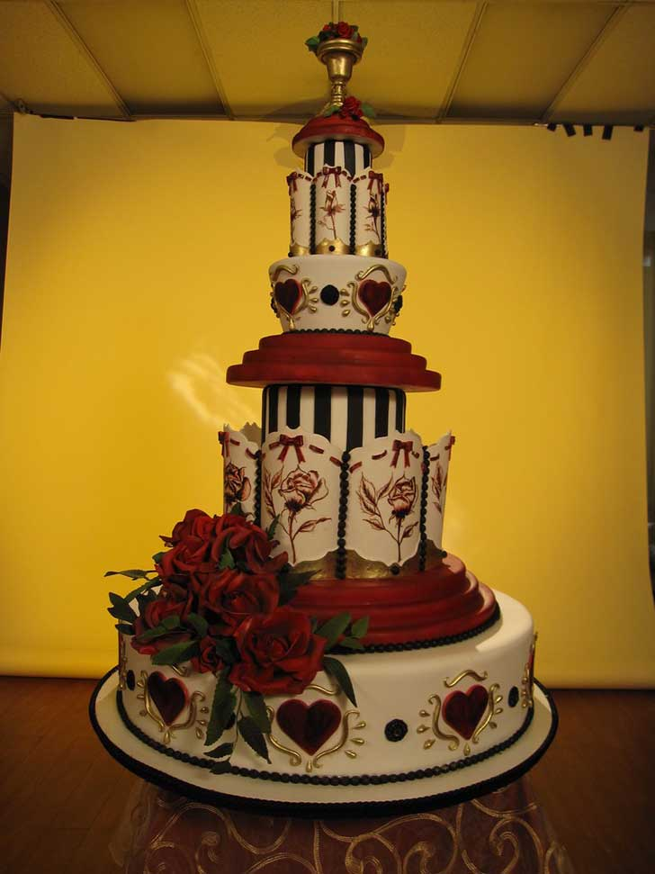 wedding cakes orange county california los 20 pasteles de bodas m 225 s impresionantes que se han 25197