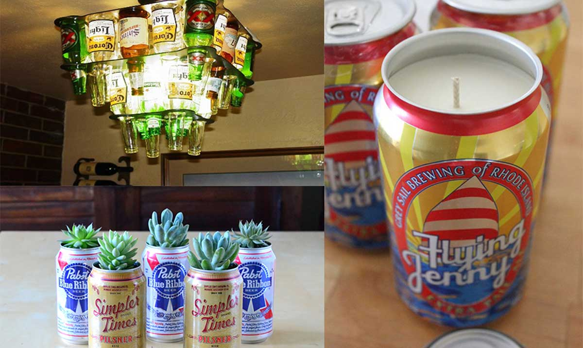 ideas para reciclar y decorar 10 Increbles Maneras De Reciclar Tus Latas Y Botellas De