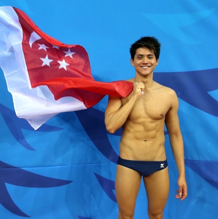 ST13092014-1425537404/syschooling28/Neo Xiaobin/Chua Siang Yee /[PHOTOGRAPHED ON SEP 26] Profile of Singapore swimmer Joseph Schooling and his parents Colin and May Schooling. /Coverage of the Asian Games 2014 held in Incheon, South Korea from Sep 17 to Oct 4. /Location: Athletes' Village, Incheon, South Korea