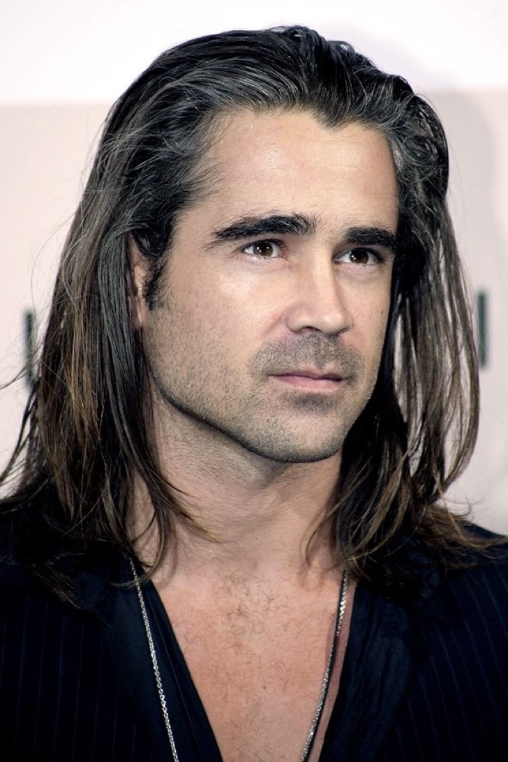 styles for guys with long hair 15 famosos que lucieron tal como se 241 oras con el pelo largo 8706 | Style Long Hair Men 11